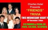 """Friends"" TRIVIA This Wednesday Night"