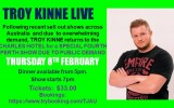 Troy Kinne - Extra Show Due to Demand!