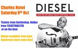 Diesel Greatest Hits + Give Me Saturday Night Tour